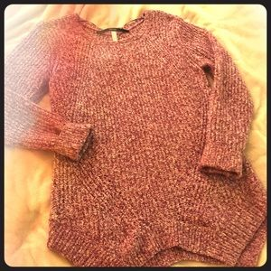 Pink and white Kenzie Sweater
